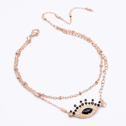 The Black Eyed Beauty Anklet