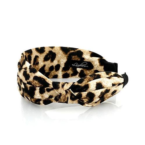 Leopard Side Knot Headband