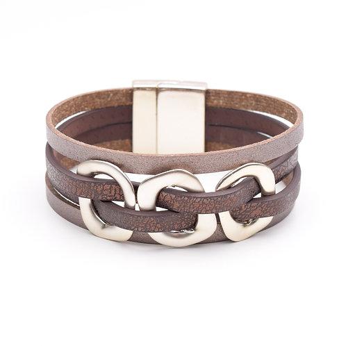 Beveled Weave Bracelet