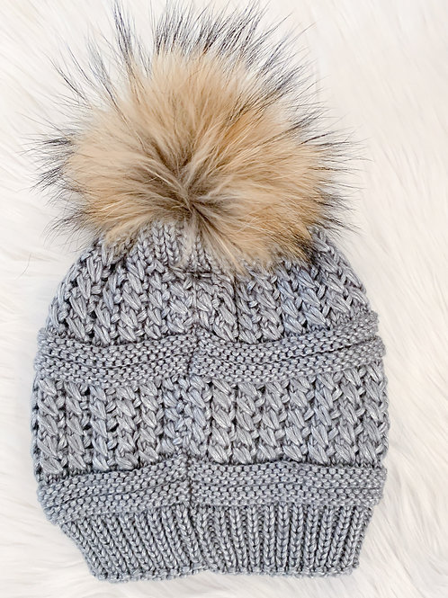 The Kinsley Toque, Grey