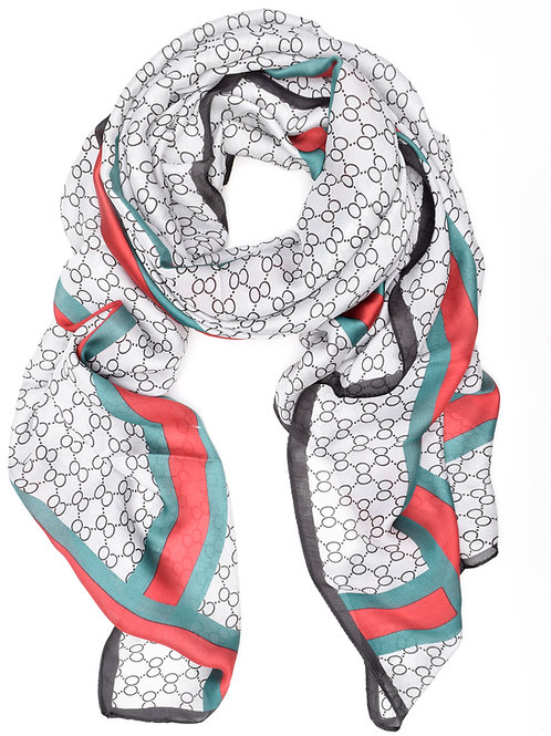 The Giselle Scarf, Grey