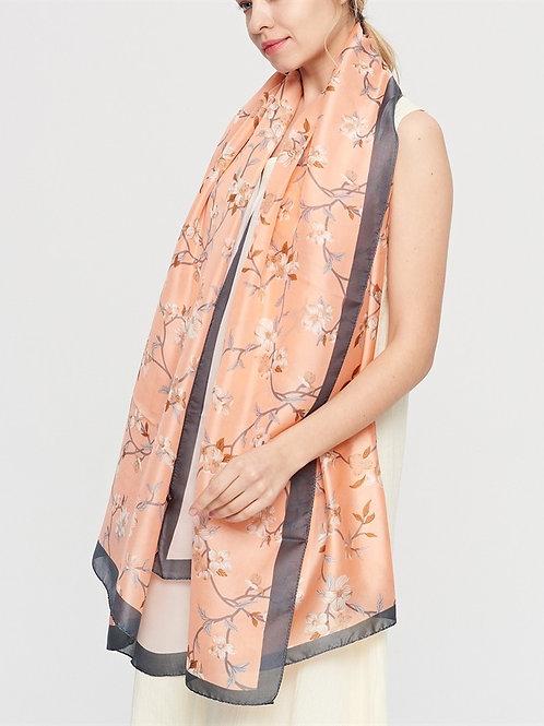The Blossom Silk Scarf