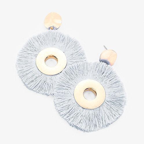 The Tassel Pinwheel Earring