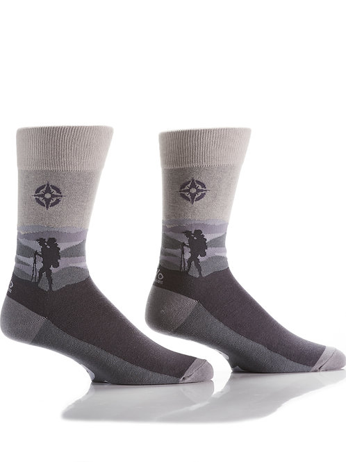 Men's Crew Sock, Explorer