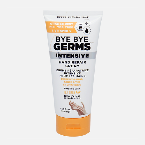 Hand Intensive Repair Cream with Orange Zest, Tea Tree and Vitamin C