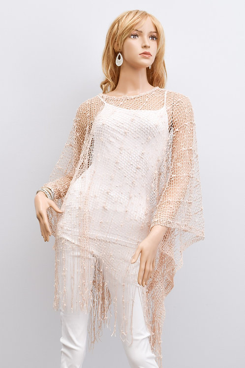 The Niaomi Netted Shirt, Beige