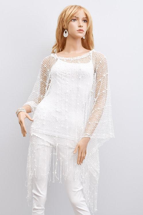 The Niaomi Netted Shirt, White