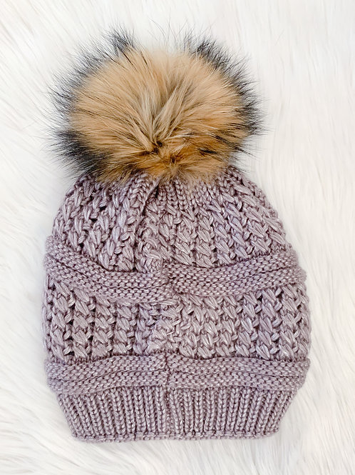 The Kinsley Toque, Mauve