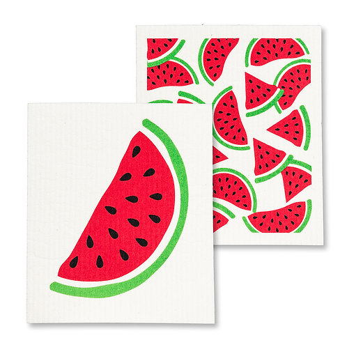 Watermelon Dishcloth Set