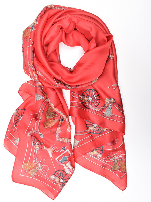 The Alice Scarf, Red