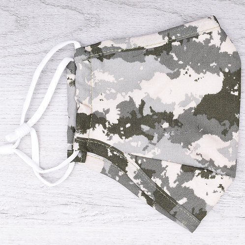 The Speckled Camo Mask