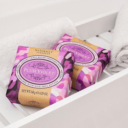 Plum Violet Soap Bar