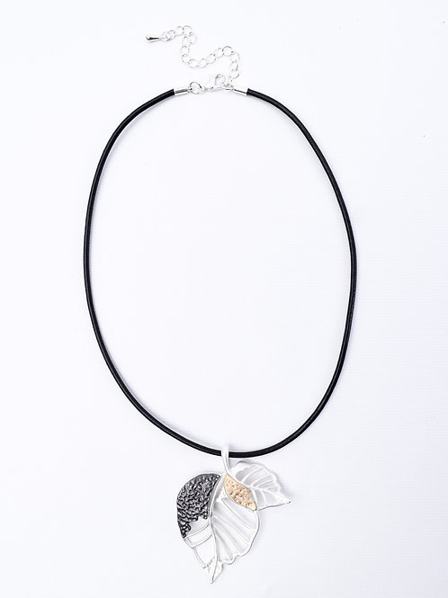 The Falling Leaves, Leather Necklace