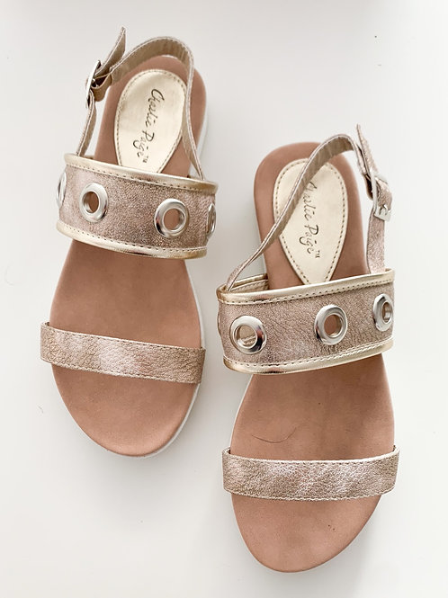 The Charlie Sandals, Gold