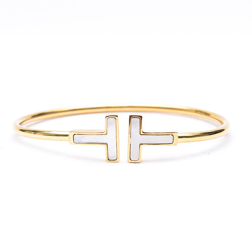 The Opposing T Bracelet