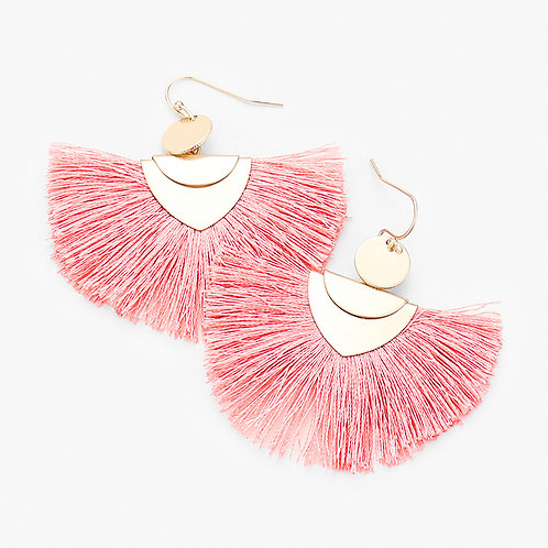 The Tassel Fan Earring