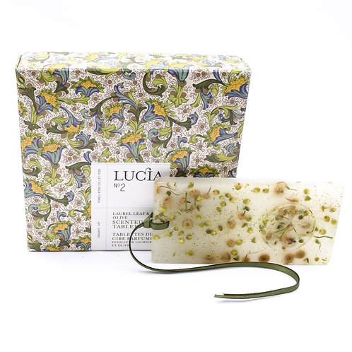 Lucia No.2 Wax Tablets Laurel Leaf & Olive