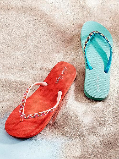 The Aztec Flip Flops
