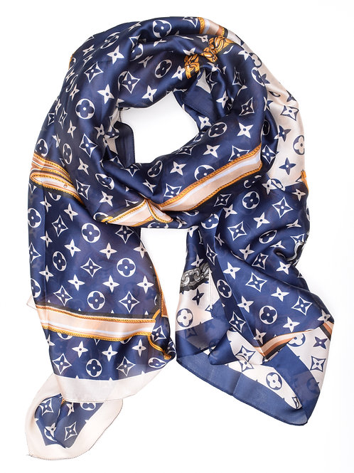The Luna Scarf, Navy