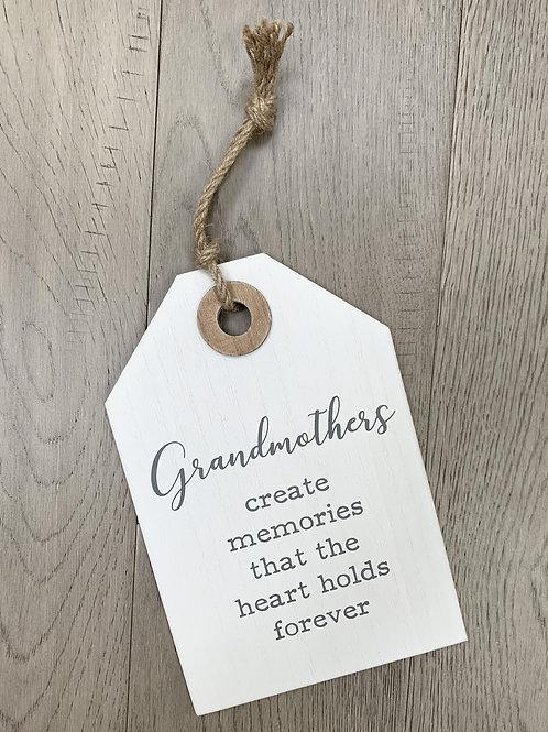 """Grandmothers"" Plaque"