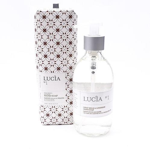 Lucia No.1 Lindseed Flower & Goat Milk Soap