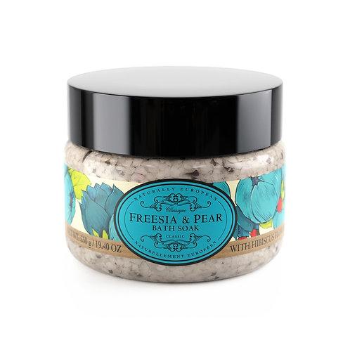 Freesia & Pear Bath Salts