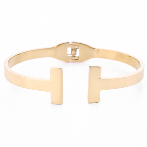 The Tina Steel Bangle