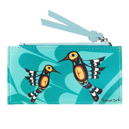 Francis Dick Hummingbird Card Holder