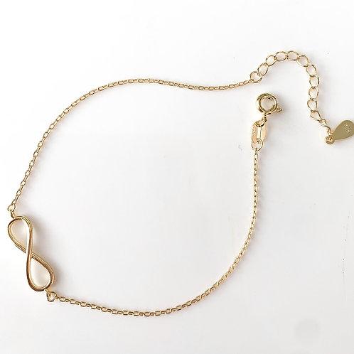 The Eternity 925 Bracelet, Gold