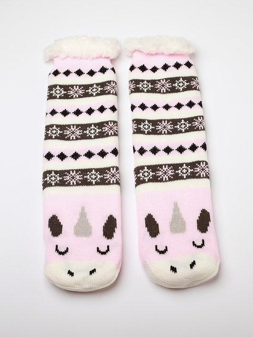 Unicorn Reading Socks