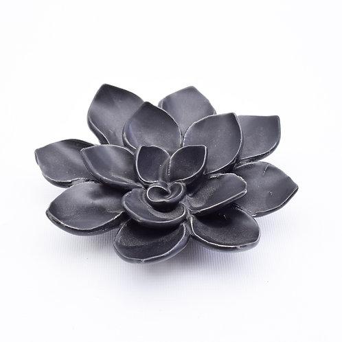 Small Flower Decor, Black