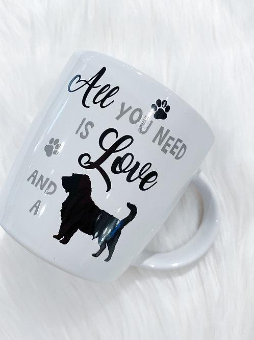 Love Dog Mug
