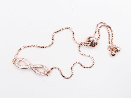 The Forever You Bracelet, Rose Gold