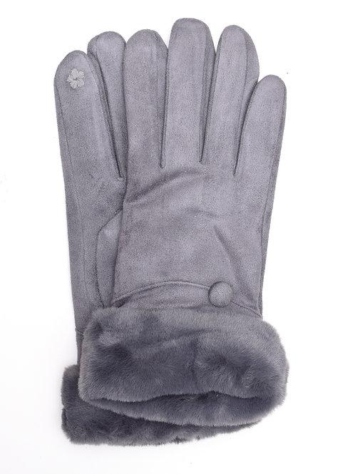 The Charlotte Gloves, Grey