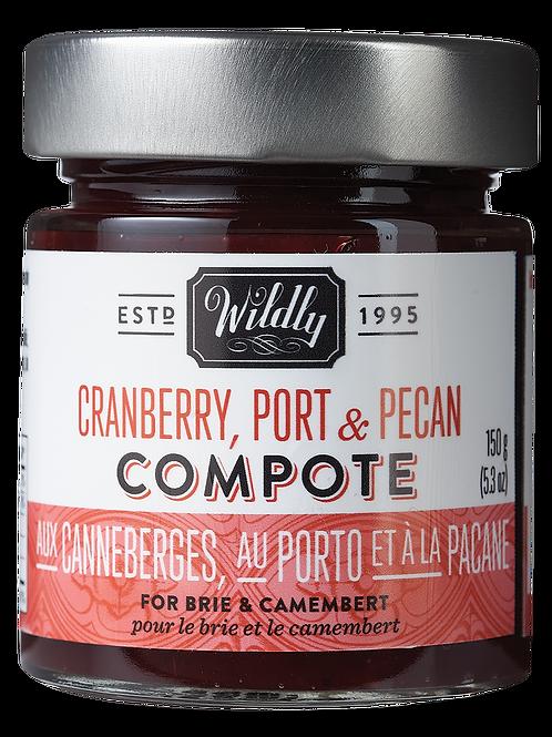 Cranberry, Port & Pecan Compote