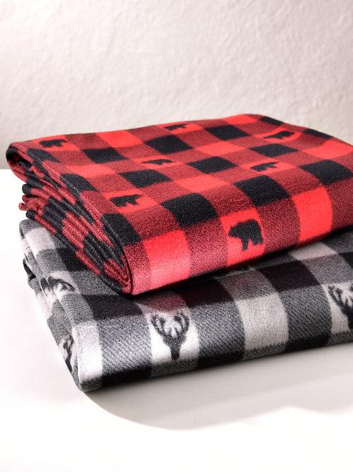 Christmas Themed Throw Blanket