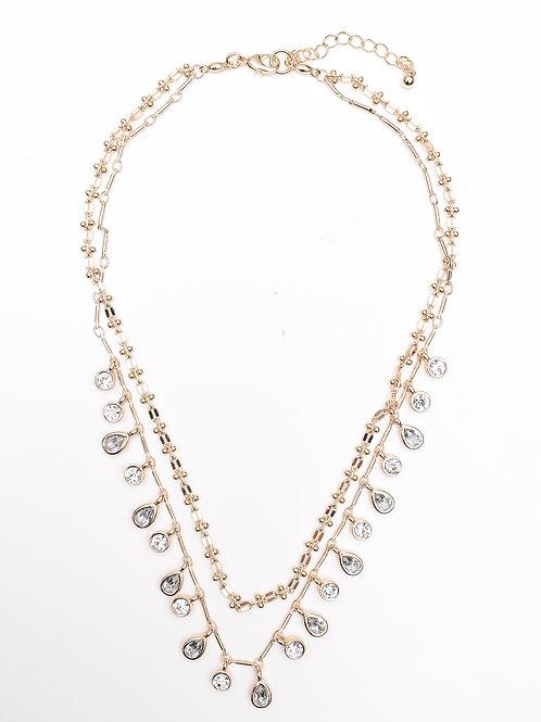 The Rhinestone Bib Necklace