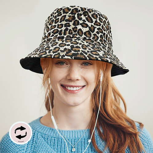 The Leopard Bucket Hat