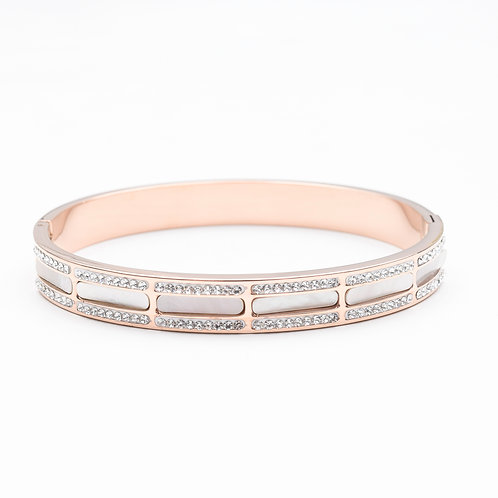 The Layers of Pearl Bangle