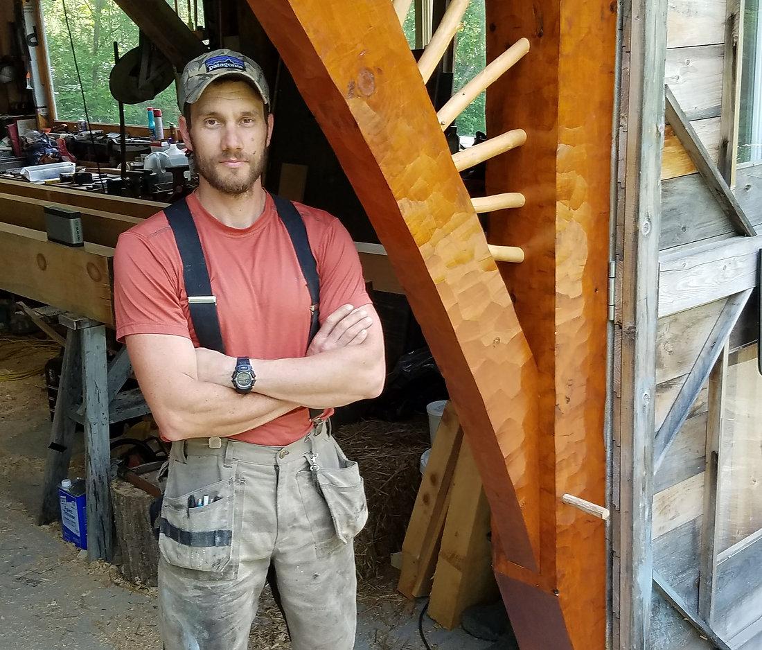 Owner of Lion Creek Design Lucas Fowler