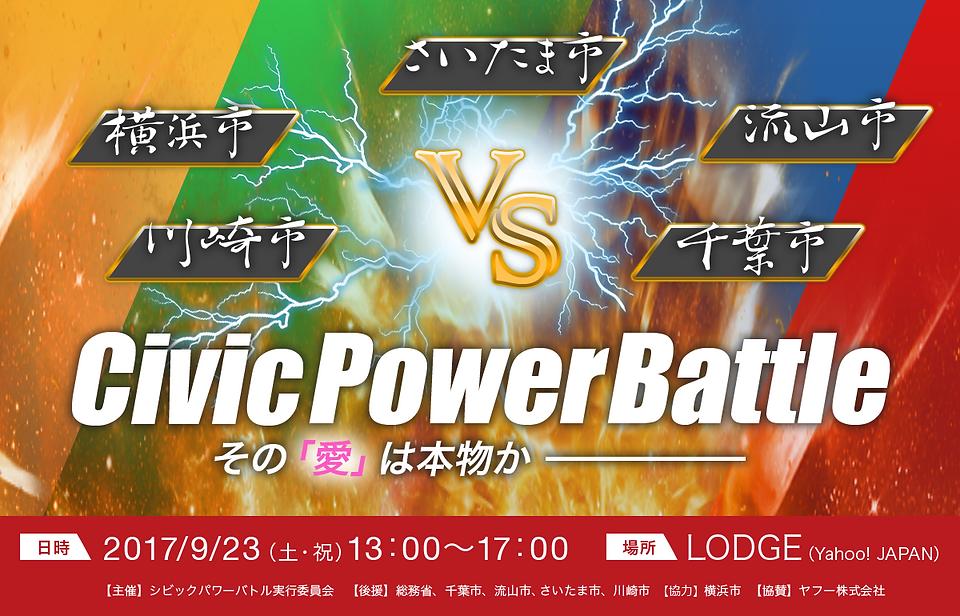 シビックパワーバトル関東大会2017
