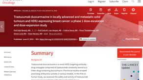 (HER2實體癌)Trastuzumab duocarmazine的有效性?