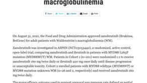(淋巴癌)FDA批准使用Brukinsa進行治療