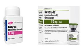 (腎臟癌)抗PD-1抗體藥吉舒達+酪氨酸激酶抑制劑抑癌特