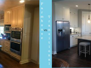 Kitchen Trends: Farmhouse vs. Transitional Style