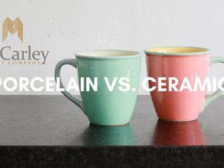 Porcelain vs. Ceramic