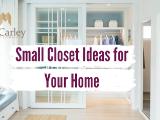 Small Closet Ideas for Your Home