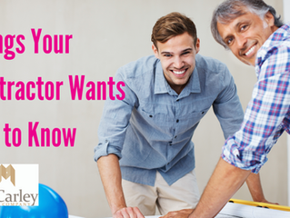 Things Your Contractor Wants You to Know
