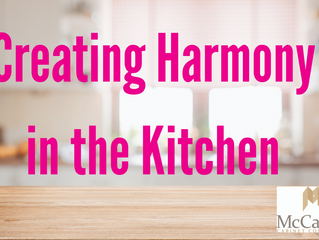 Creating Harmony in the Kitchen