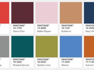 Fall 2017 Pantone Color Trends